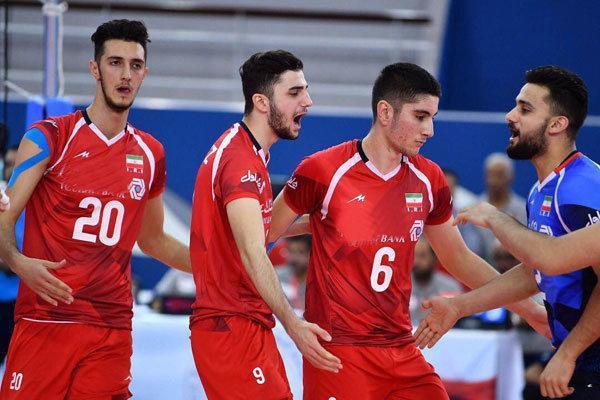 پیروزی والیبالیست های جوان ایران در گام نخست