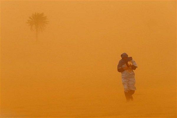 سرعت طوفان شن در زابل به 115 کیلومتر بر ساعت رسید