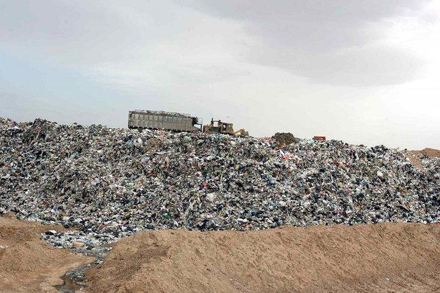 پیش بینی انتقال زباله های کوه باباموسی به دفن گاه زباله