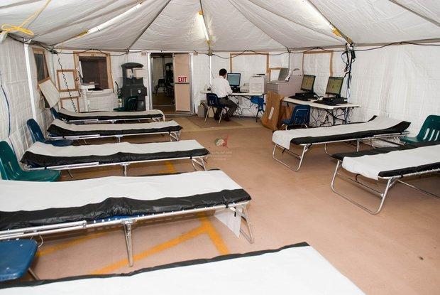 بیمارستان صحرایی در ثلاث باباجانی برپا می گردد