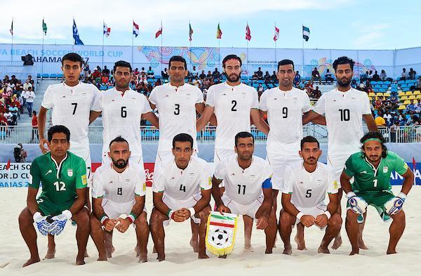 عملکرد تیم ملی فوتبال ساحلی ایران در سال 97