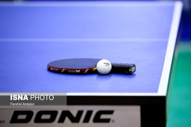 شکست تیم ایران در نیمه نهایی مسابقات تنیس روی میز اسلوونی