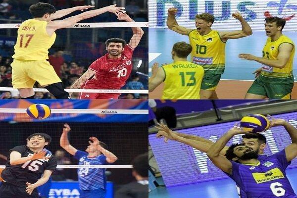 نتایج روز دوم مسابقات به همراه جدول بازی ها، ایران در رده دوم