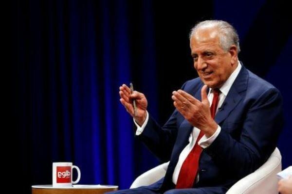 خلیل زاد:حمایت آمریکااز کابل بعد از توافق با طالبان هم ادامه دارد