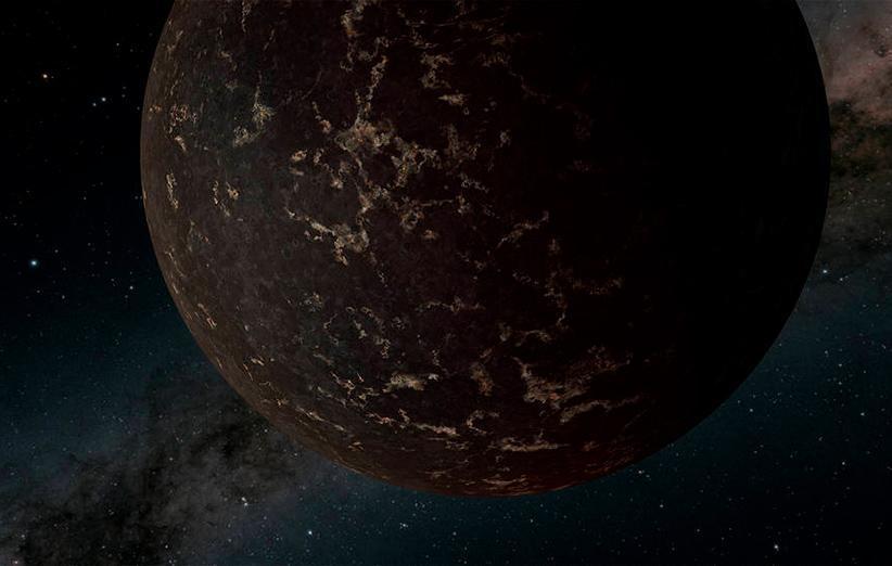 نگاه دقیق تلسکوپ اسپیتزر به سیاره ای که شبیه به ماه است
