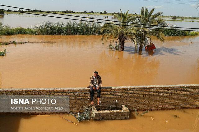 خسارت سیصد میلیون تومانی بارندگی به گوهران بشاگرد
