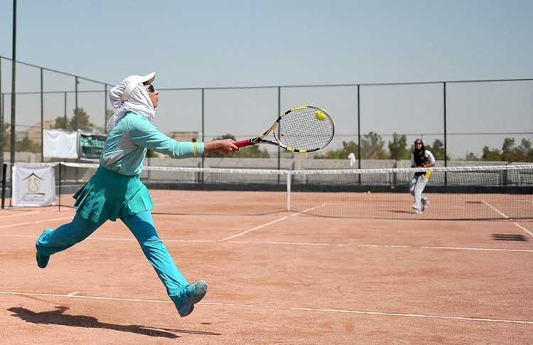بانوان تنیسور استان در جهت پیشرفت