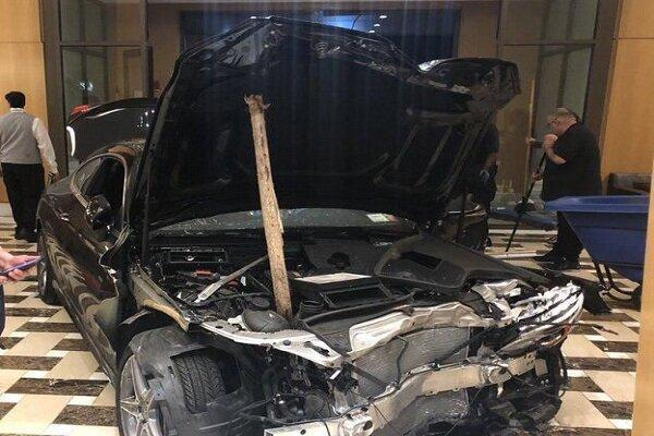 ورود خودرو به برج ترامپ در نیویورک، 3 نفر زخمی شدند