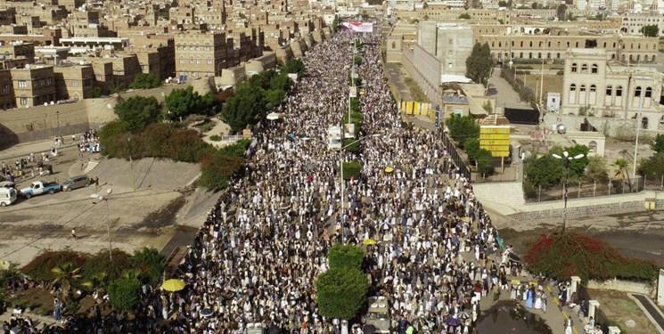 صدها هزار یمنی عید ولایت را با راهپیمایی بزرگ جشن گرفتند