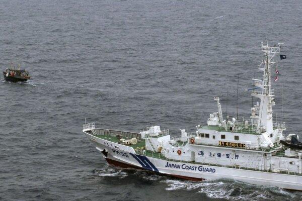 برخورد شناورهای ژاپن و کره شمالی، قایق کره ای غرق شد