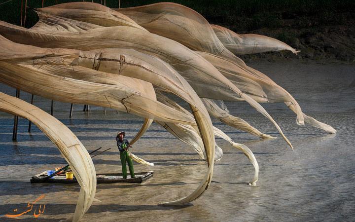 ماهیگیری در یک روز بادی - عکس روز نشنال جئوگرافیک
