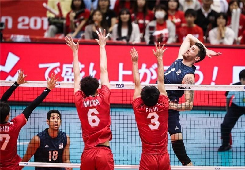 جام جهانی والیبال، ژاپن مغلوب آمریکا شد، ایران در رده هفتم