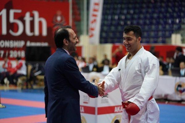 روز پرفروغ کاراته کاهای ایران، سجاد گنج زاده فینالیست چهارم