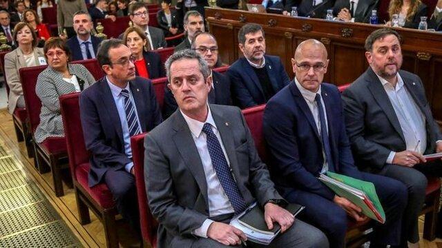 رهبر زندانی کاتالونیا: برگزاری همه پرسی تازه اجتناب ناپذیر است