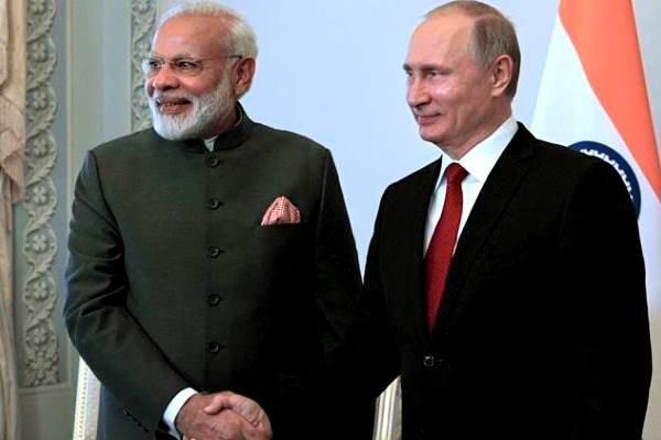 پوتین: طبق برنامه اس 400 را به هند تحویل می دهیم