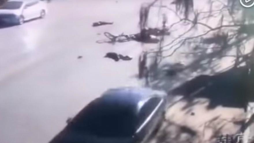حمله با خودرو به دانش آموزان در چین 5 کشته و 18 زخمی بر جا گذاشت