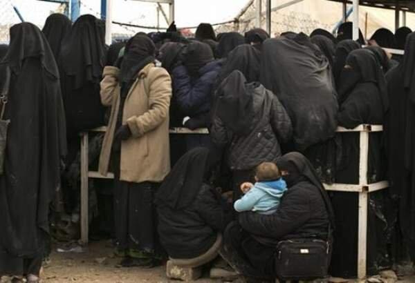 انتقال 1500 زن داعشی از سوریه به عراق