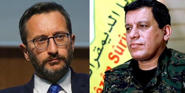 انتقاد شدید ترکیه از رفتار محبت آمیز آمریکا با فرمانده شبه نظامیان کُرد سوری
