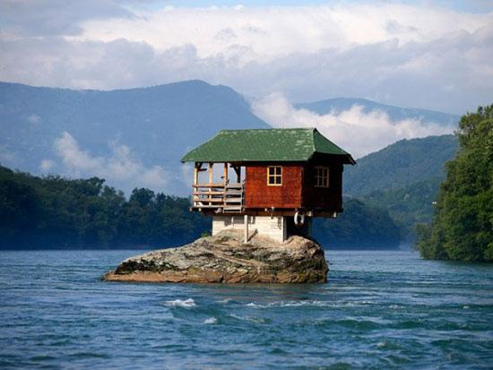 14 خانه عجیب در مکان هایی غیرممکن!