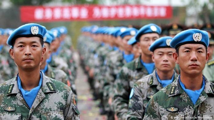 استراتژی چین در آفریقا ، گسترش حضور نظامی و نفوذ مالی