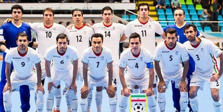فوتسال ایران با یک پله صعود در رده چهارم دنیا نهاده شد