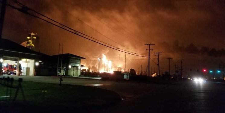 تخلیه چهار شهر در آمریکا به دلیل انفجار در یک کارخانه مواد شیمیایی