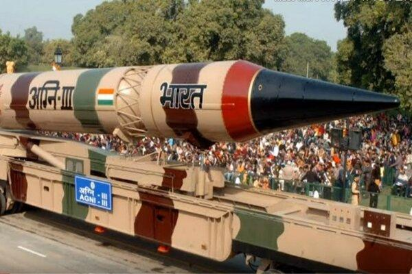 هند موشک بالستیک با قابلیت حمل کلاهک هسته ای آزمایش کرد