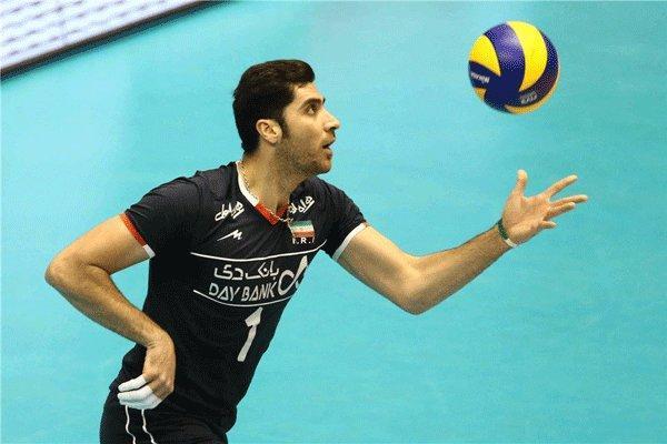 شهرام محمودی به اردوی تیم ملی والیبال ملحق می گردد