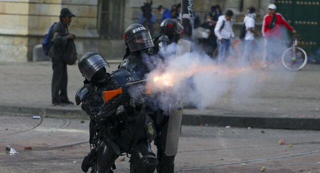 شب ناآرام کلمبیا؛ 4 کشته و 500 زخمی در دور جدید اعتراضات