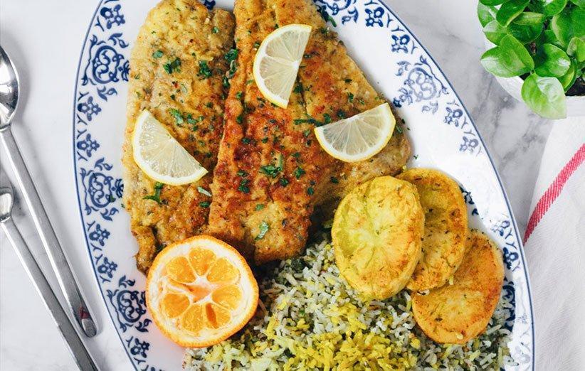 چطور سبزی پلو ماهی شب عید درست کنیم؟