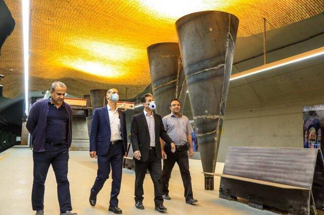 ایستگاه وکیل با بازگشایی مترو افتتاح می گردد