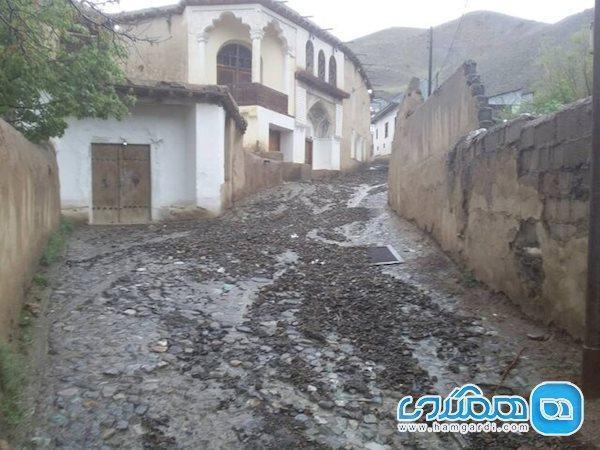 شرایط خانه نیما یوشیج بعد از سیلاب چگونه است؟