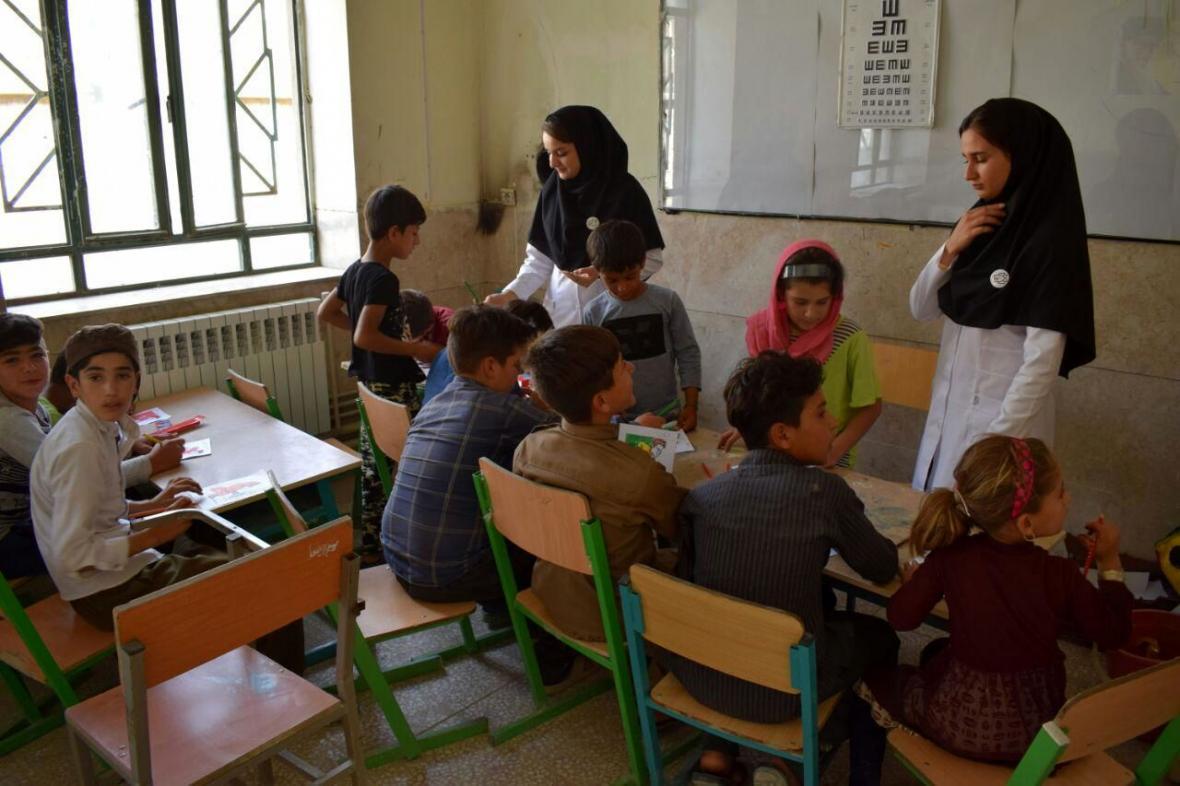 کلاس های آموزشی برای دانش آموزان نیازمند بجنورد برگزار می گردد