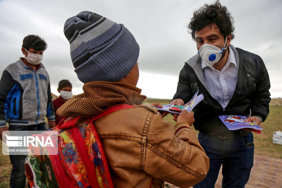 خبرنگاران بازماندگان خراسان شمالی راهی مدرسه می شوند