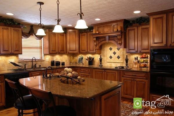 آشپزخانه شیک و زیبا در سبک طراحی کلاسیک، مدرن و امروزی