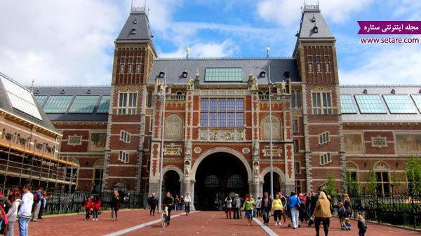 جاذبه های گردشگری آمستردام؛ شهر دوچرخه ها