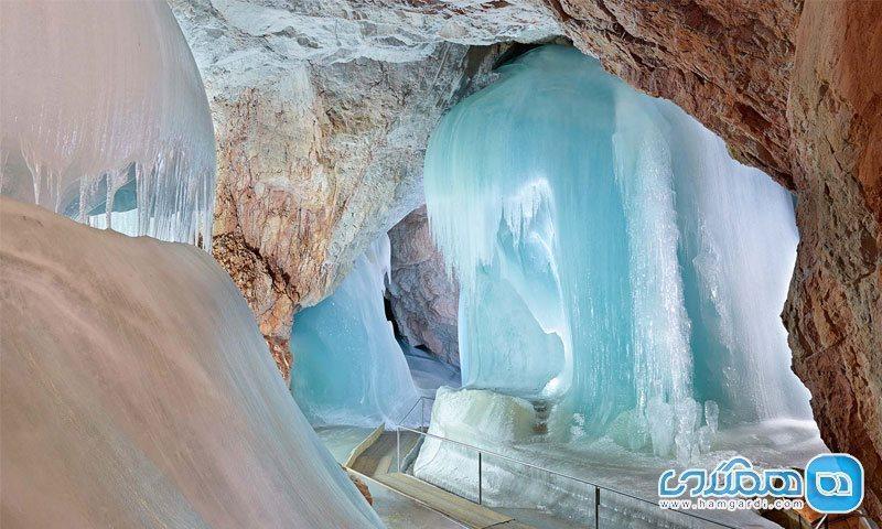 بزرگترین غار یخی دنیا؛ زیبایی طبیعی در بطن اتریش
