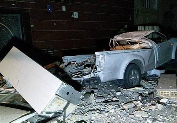 انفجار شدید در یک ساختمان مسکونی در شرق تهران