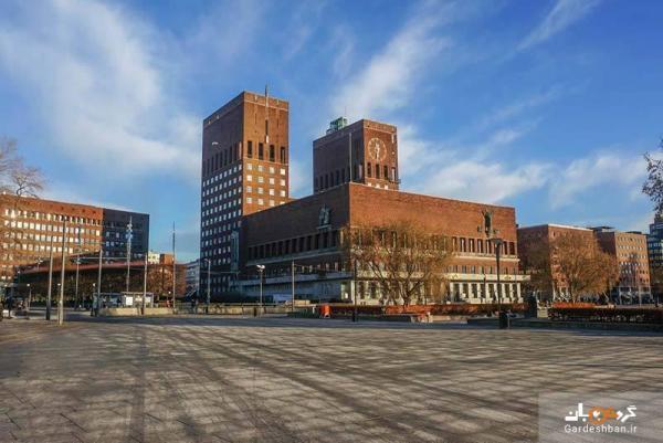 ساختمان شهرداری اسلو، محلی برای جایزه نوبل، عکس