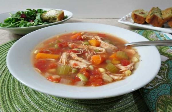 طرز تهیه سوپ سبزیجات به 3 روش
