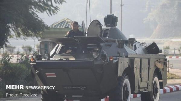 ارتش میانمار تمامی پروازها را تا انتها ماه مِی تعلیق کرد