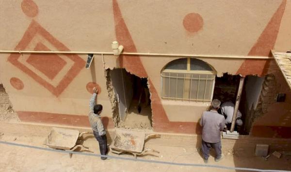شروع بازسازی و سامان دهی یک ساباط قاجاری در اردکان