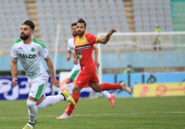 لیگ برتر فوتبال، تساوی یک نیمه ای آلومینیوم و فولاد