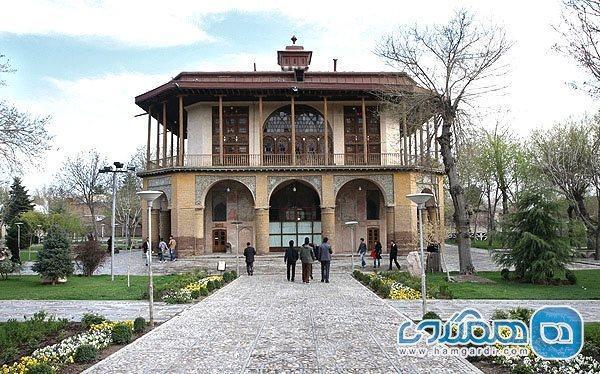 عمارت چهل ستون قزوین؛ یادگاری باشکوه از عصر صفوی