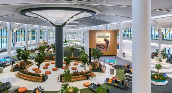 آشنایی با ترمینال های فرودگاه جدید استانبول